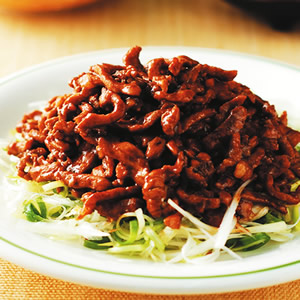 京醬肉絲(3)
