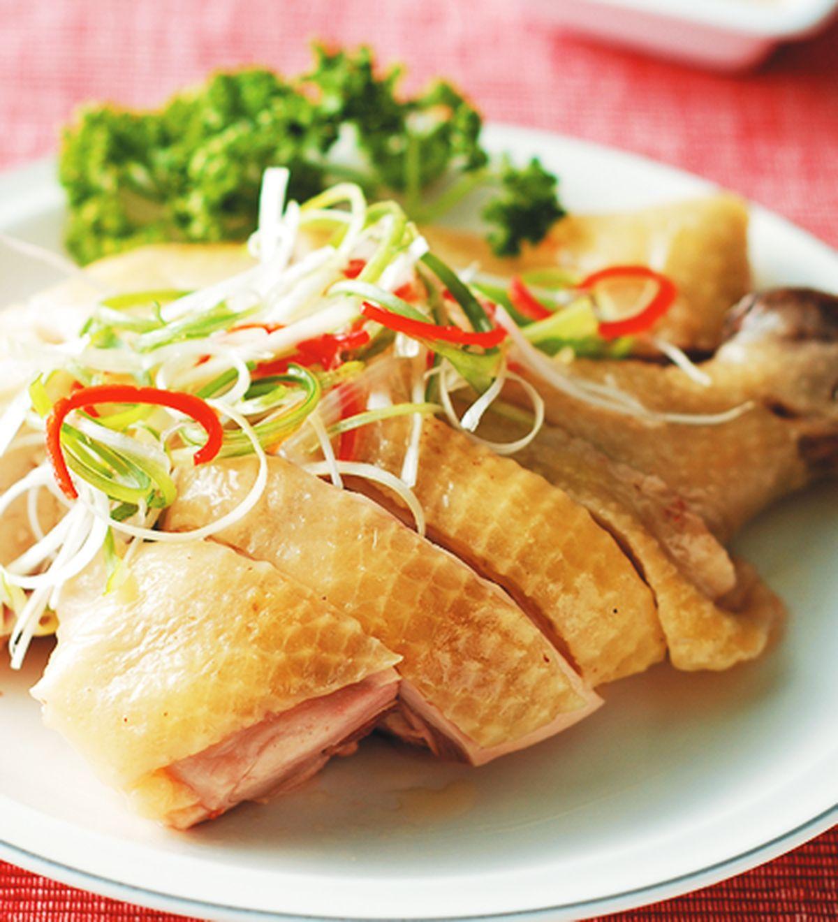 食譜:蔥油雞(9)