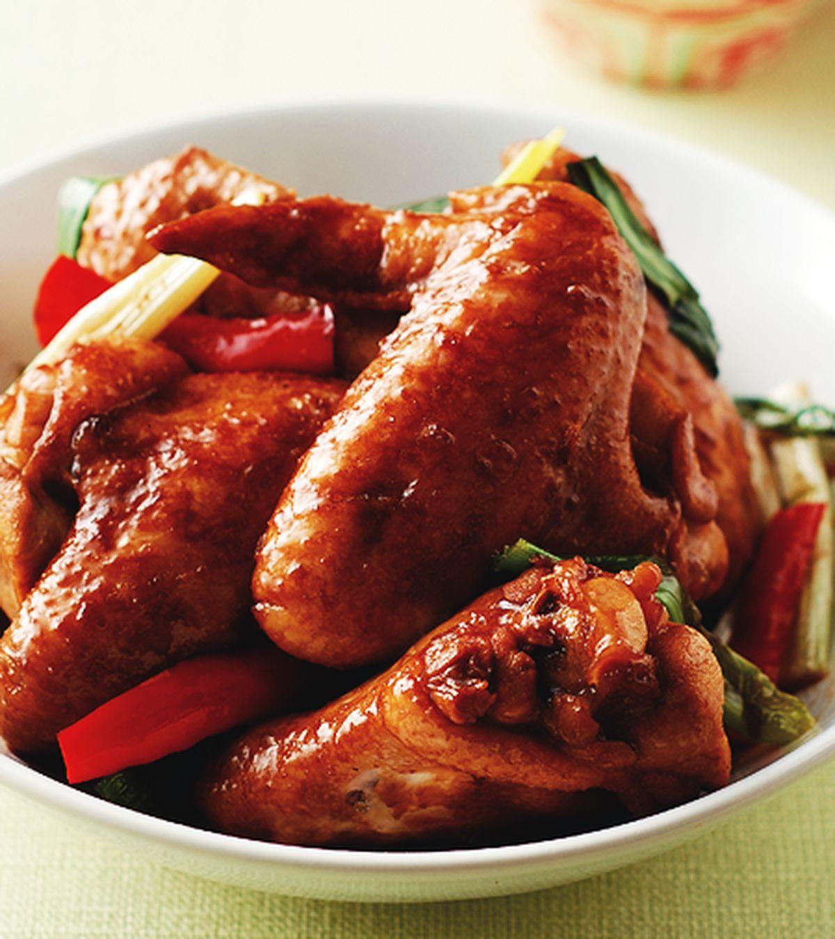 食譜:蔥燒雞翅(1)