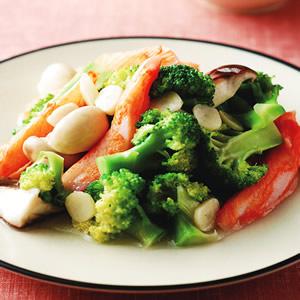 蟹肉燴花椰菜