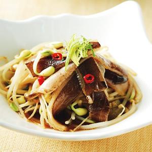 日式和風拌魚皮