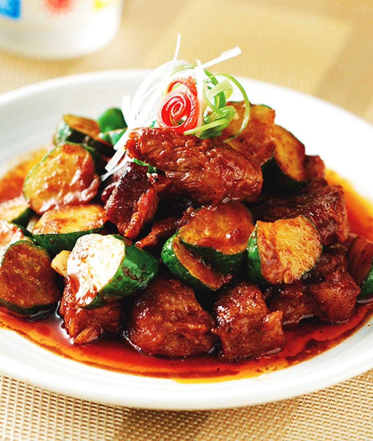 食譜:韓式辣醬拌牛肉