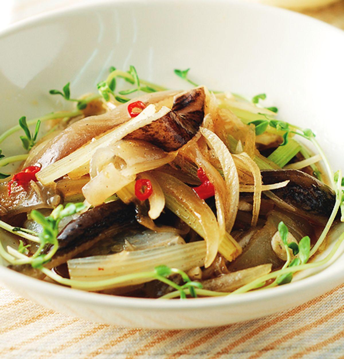 食譜:台式酸辣拌魚皮