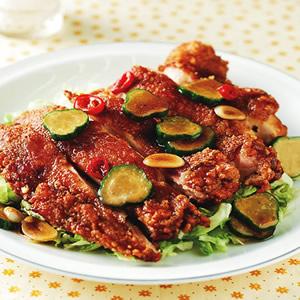 泰式椒麻雞(1)