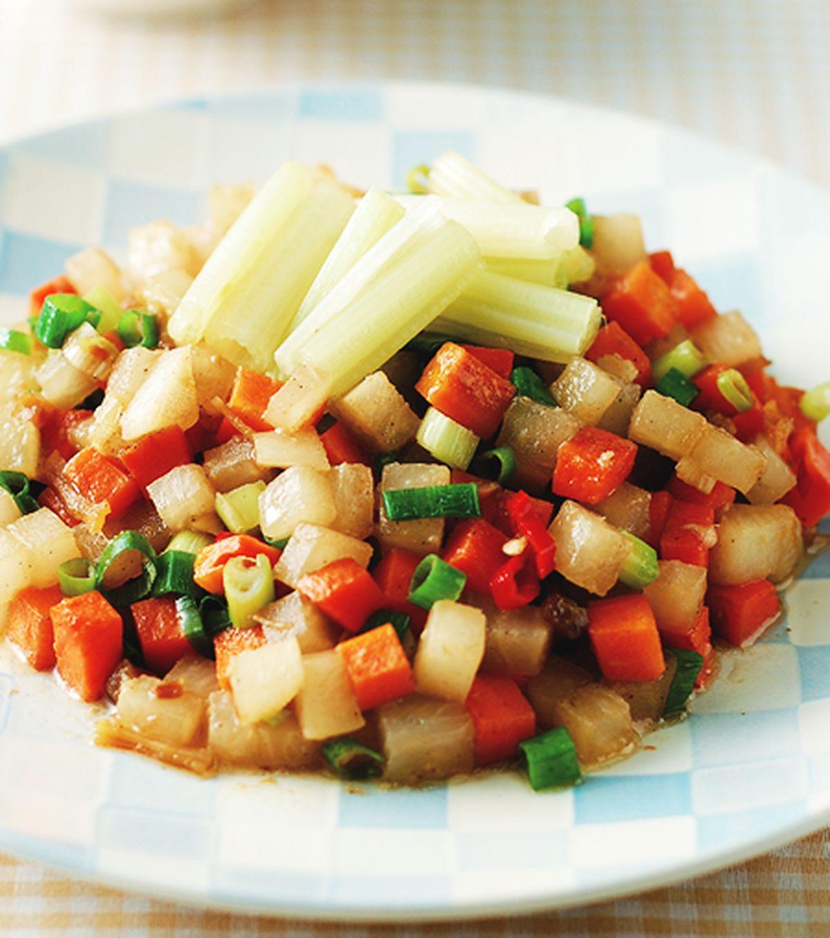 食譜:xo醬拌蘿蔔