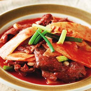 紅麴炒肉片