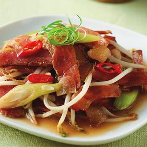 蒜香炒臘肉