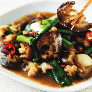 塔香炒螺肉