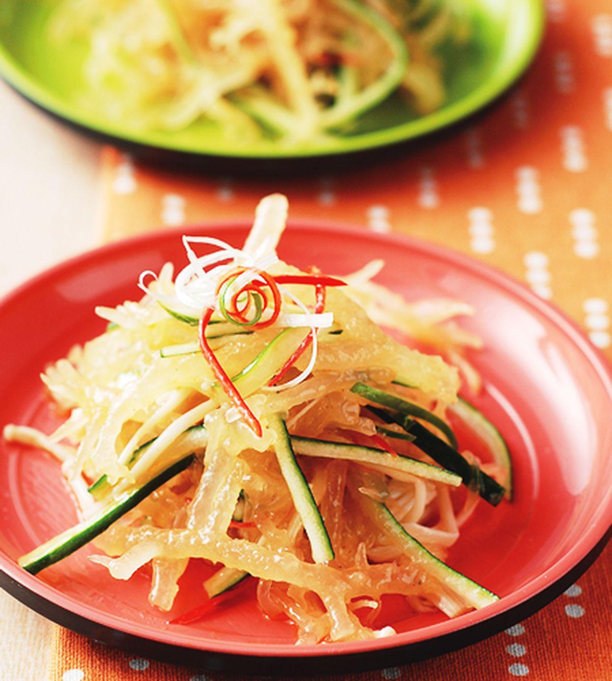 食譜:涼拌珊瑚草(1)