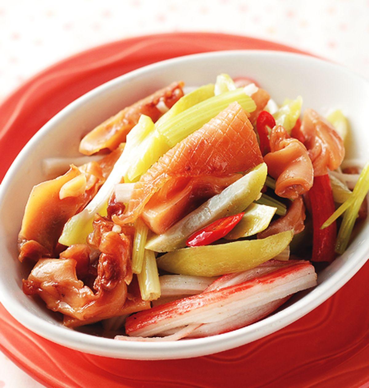 食譜:芒香辣味海鮮