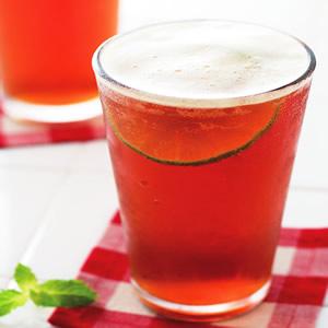 泡沫檸檬紅茶