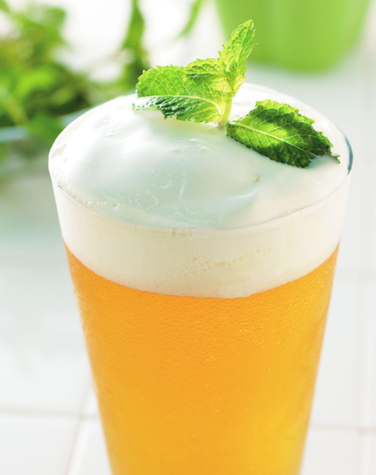 食譜:奶霜綠茶