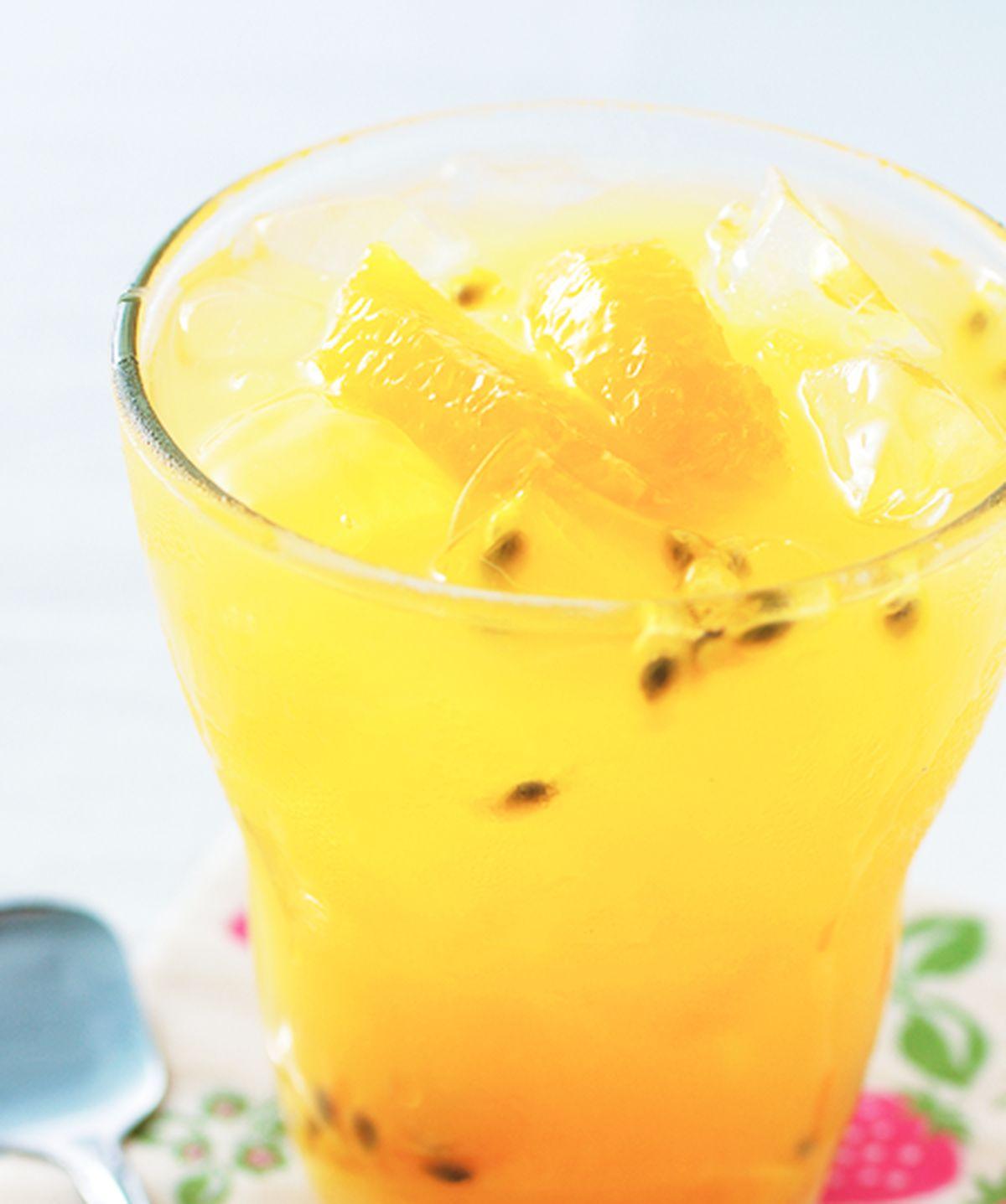 食譜:鮮果冰茶