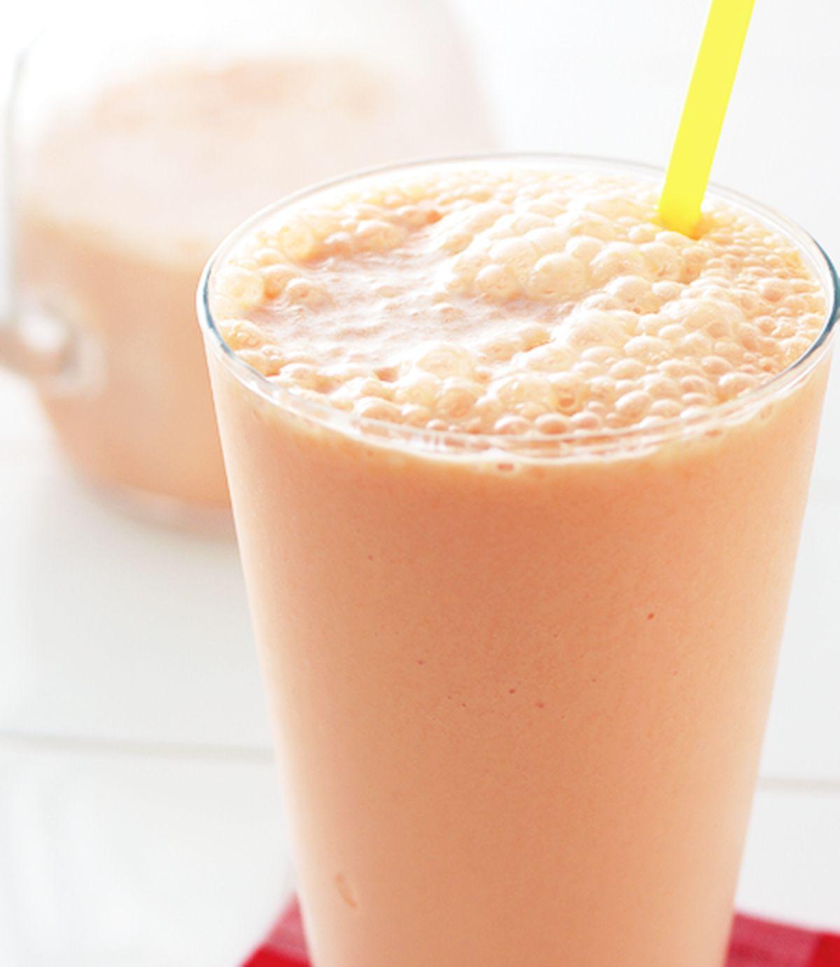 食譜:木瓜牛奶(2)