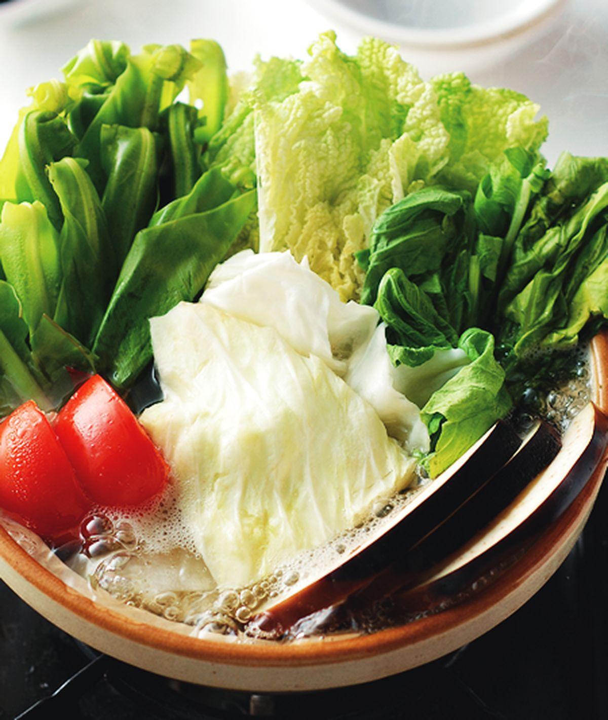 食譜:高山野菜鍋