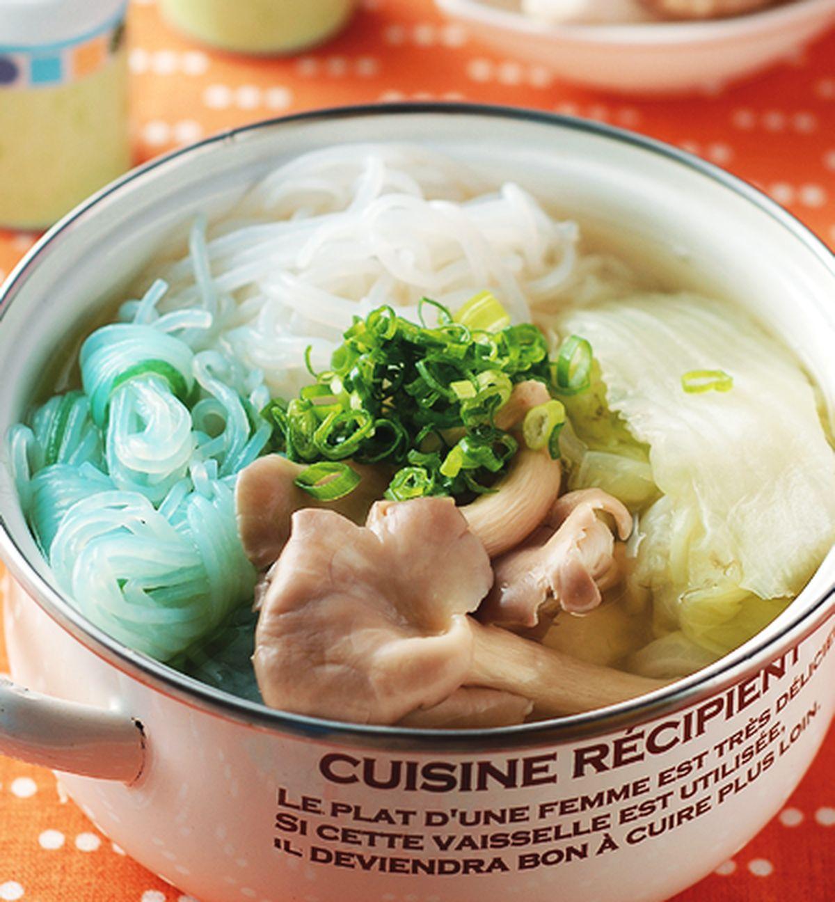 食譜:蒟蒻白菜鍋