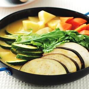 南瓜蔬菜鍋