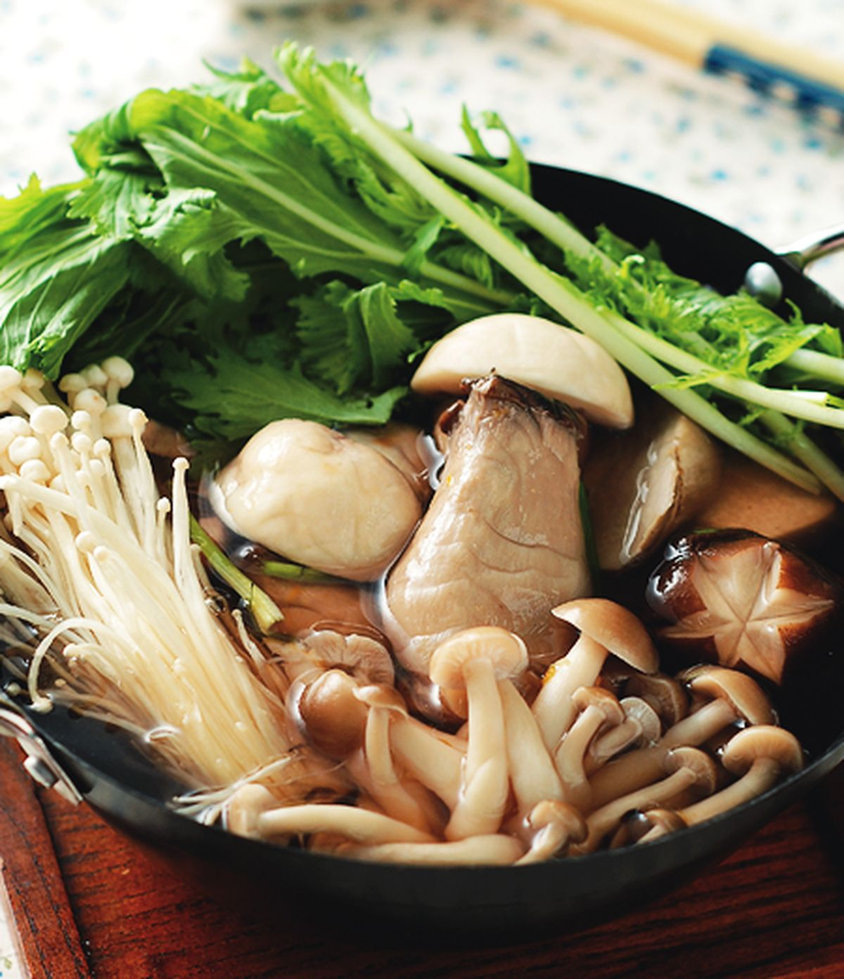 食譜:百菇什錦鍋(1)