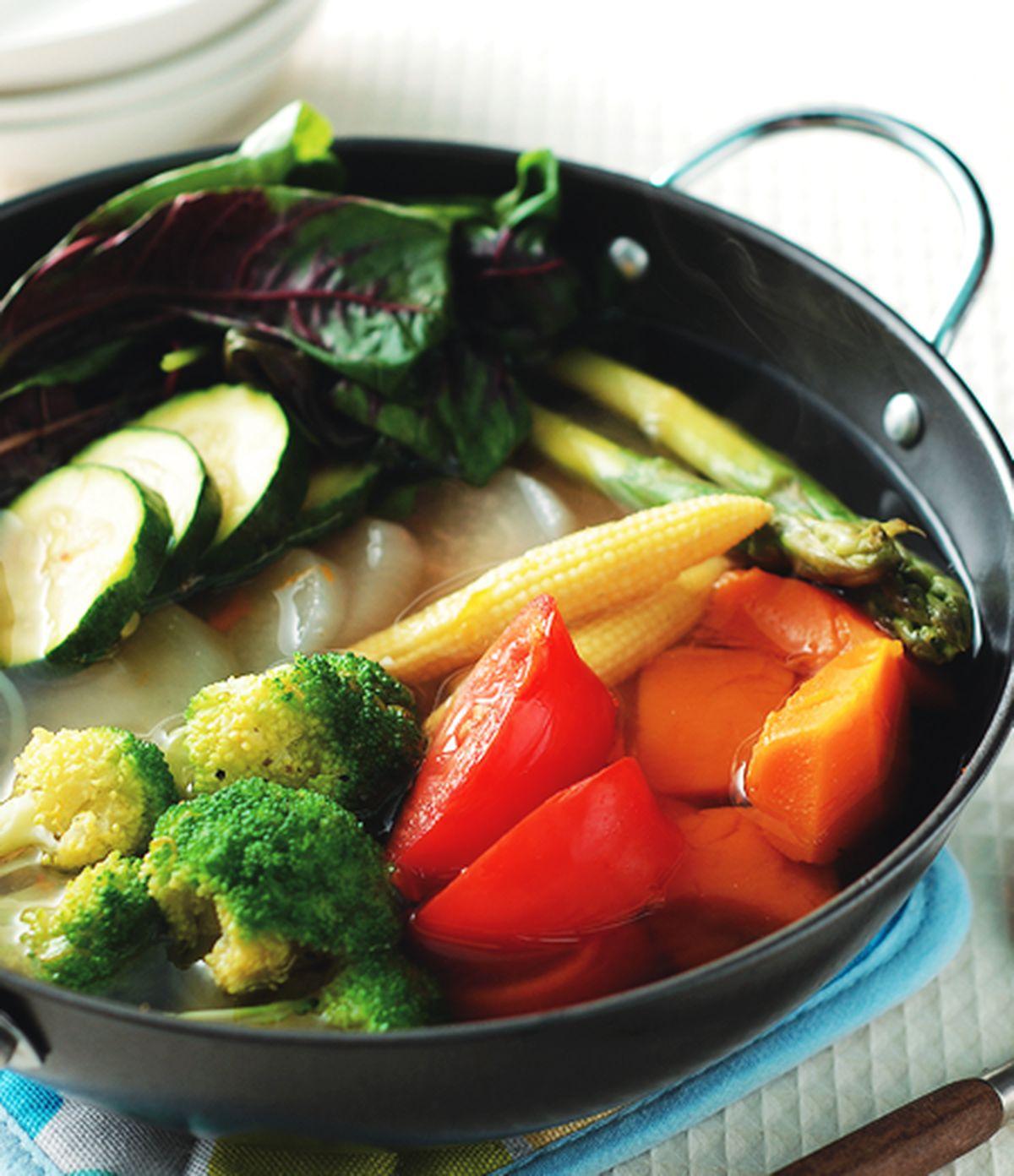 食譜:素食什錦蔬菜鍋