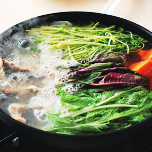 綜合野菜鮮魚鍋