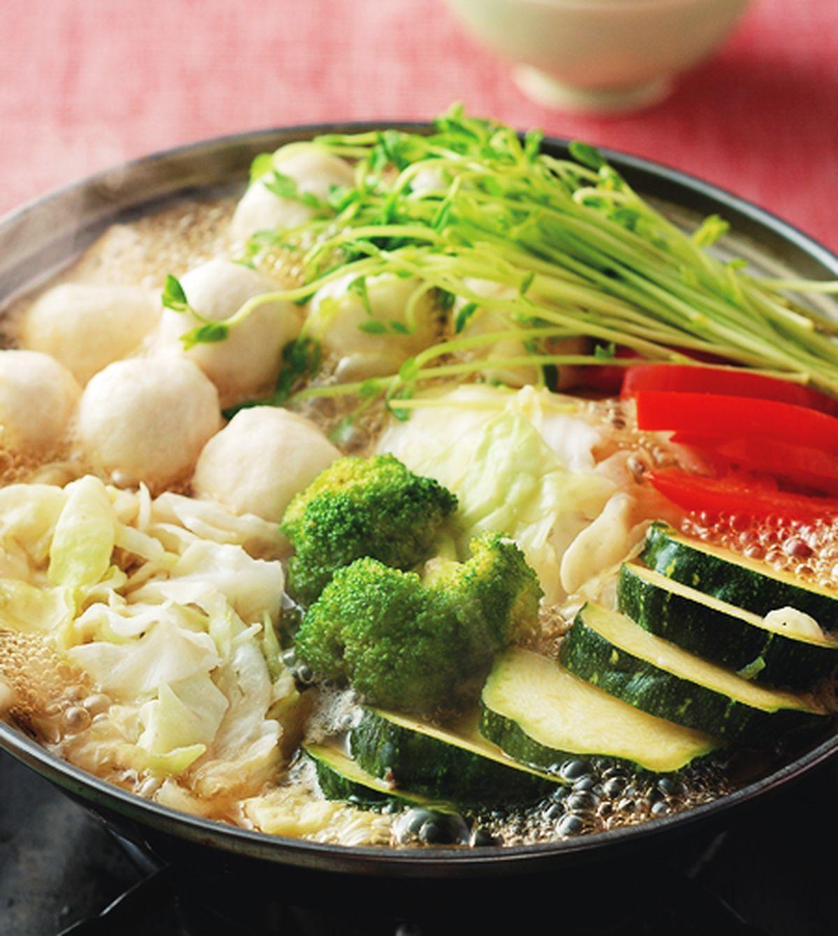 食譜:鱈魚丸高麗菜鍋