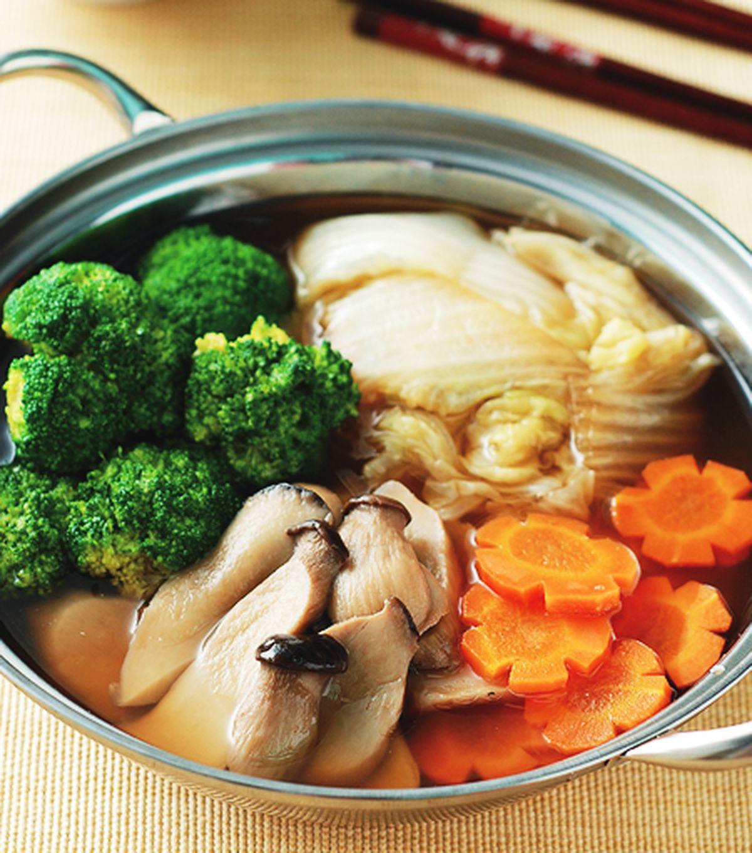 食譜:甘露杏鮑菇鍋