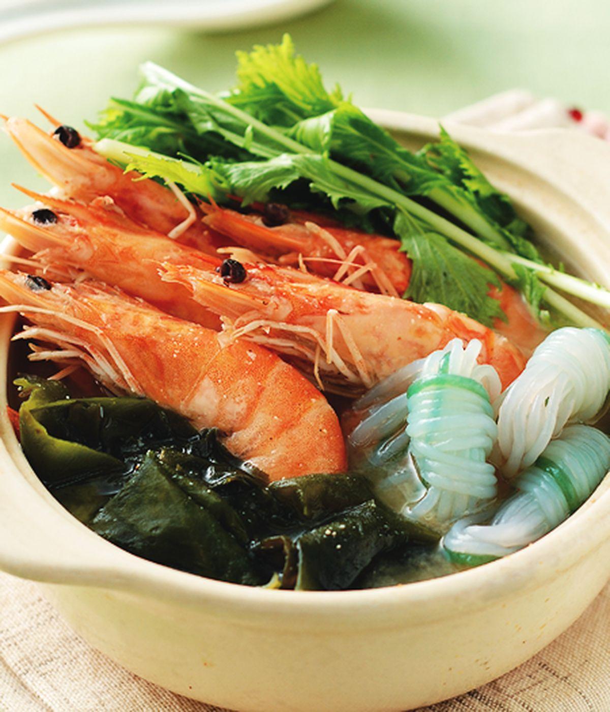 食譜:鮮蝦芽菜味噌鍋