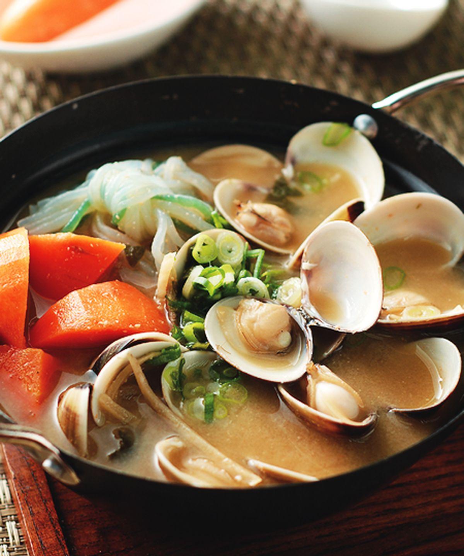 食譜:蛤蜊味噌鍋