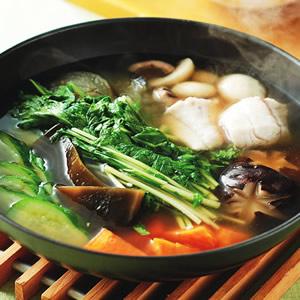 魚片野菜昆布鍋