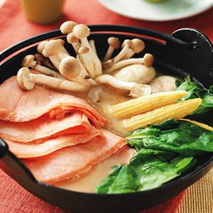 燻鮭味噌鍋