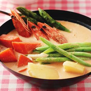 椰汁蔬菜咖哩鍋