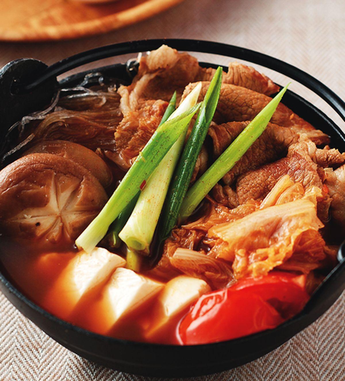 食譜:韓式泡菜豆腐鍋