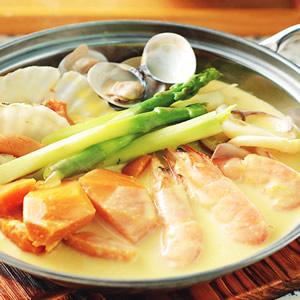 海鮮牛奶南瓜鍋