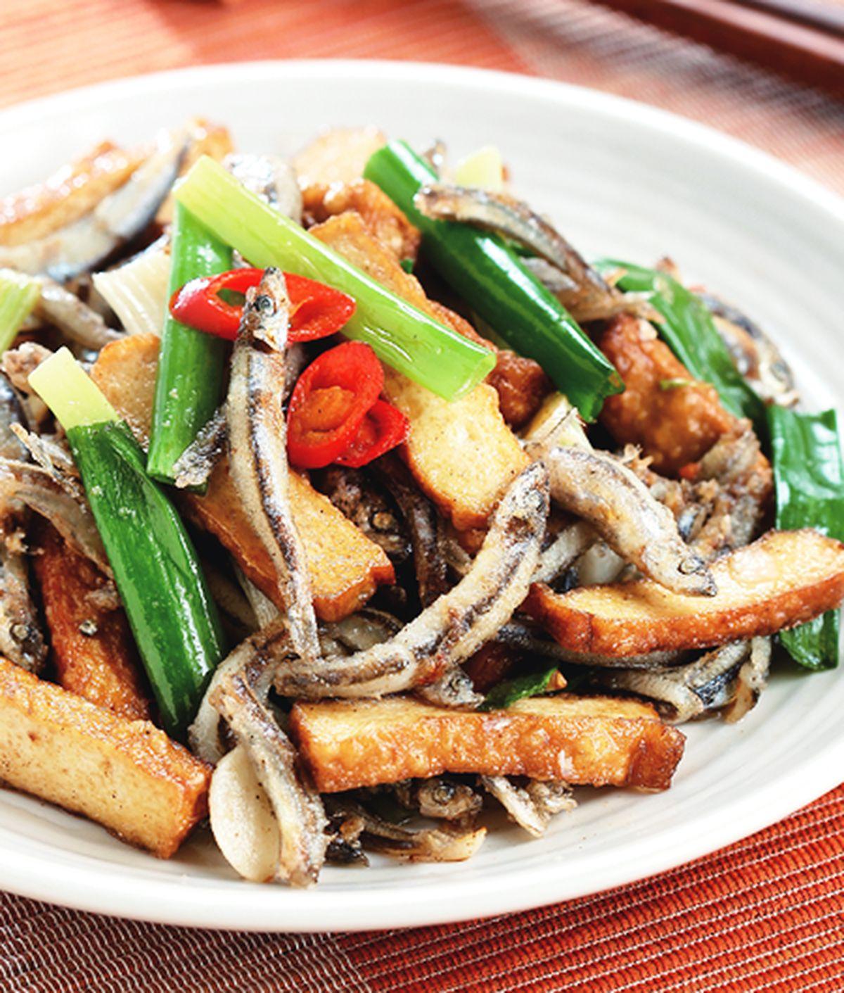 食譜:豆乾炒丁香