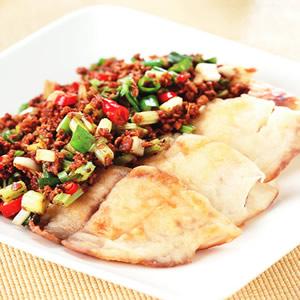 豆酥炒魚片