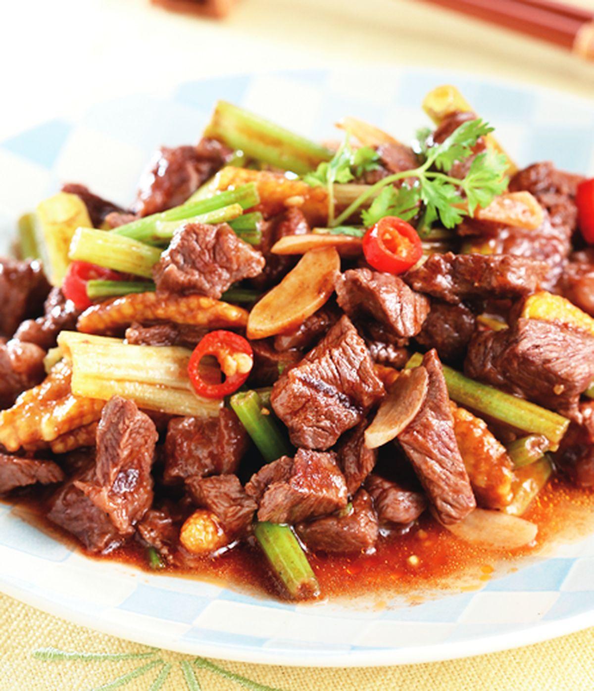 食譜:牛肉炒芹菜