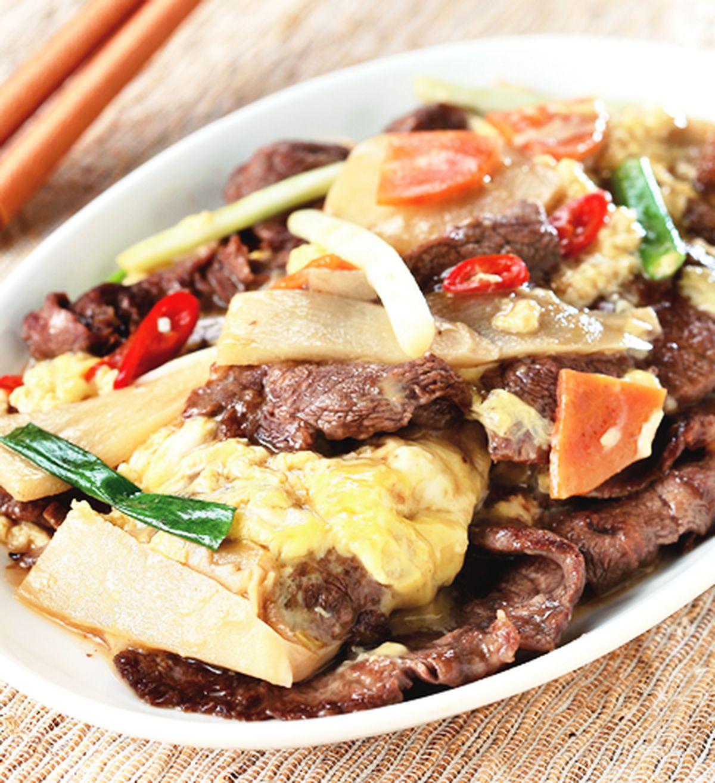食譜:滑蛋炒牛肉