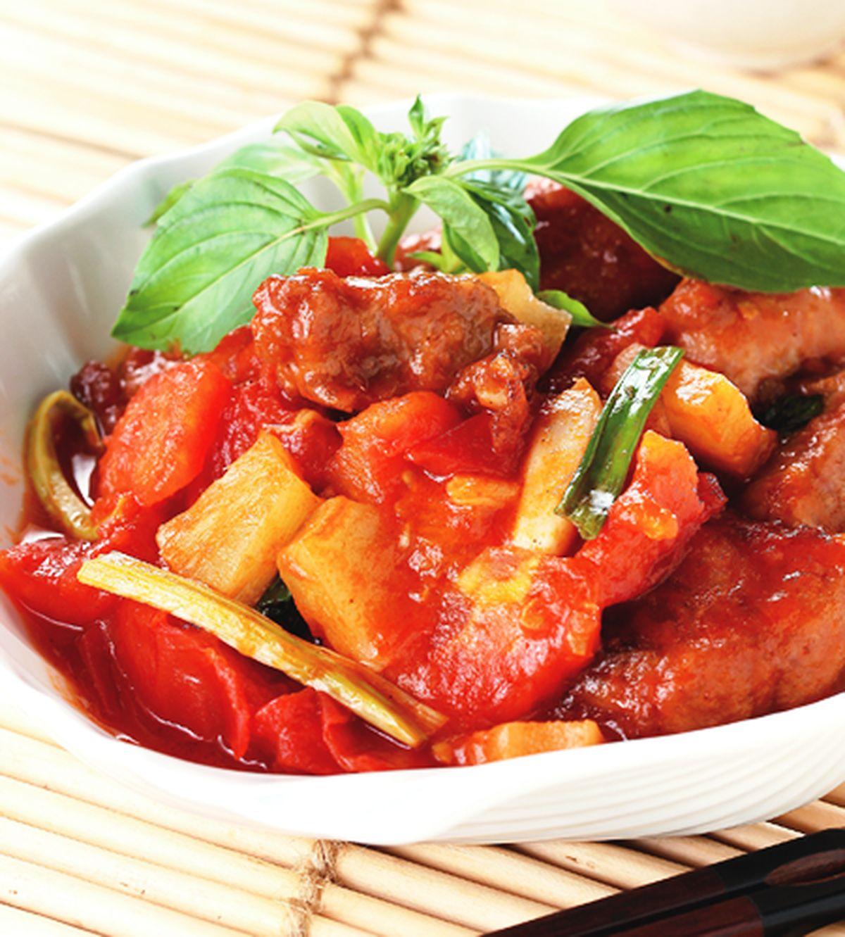 食譜:蕃茄咕咾肉