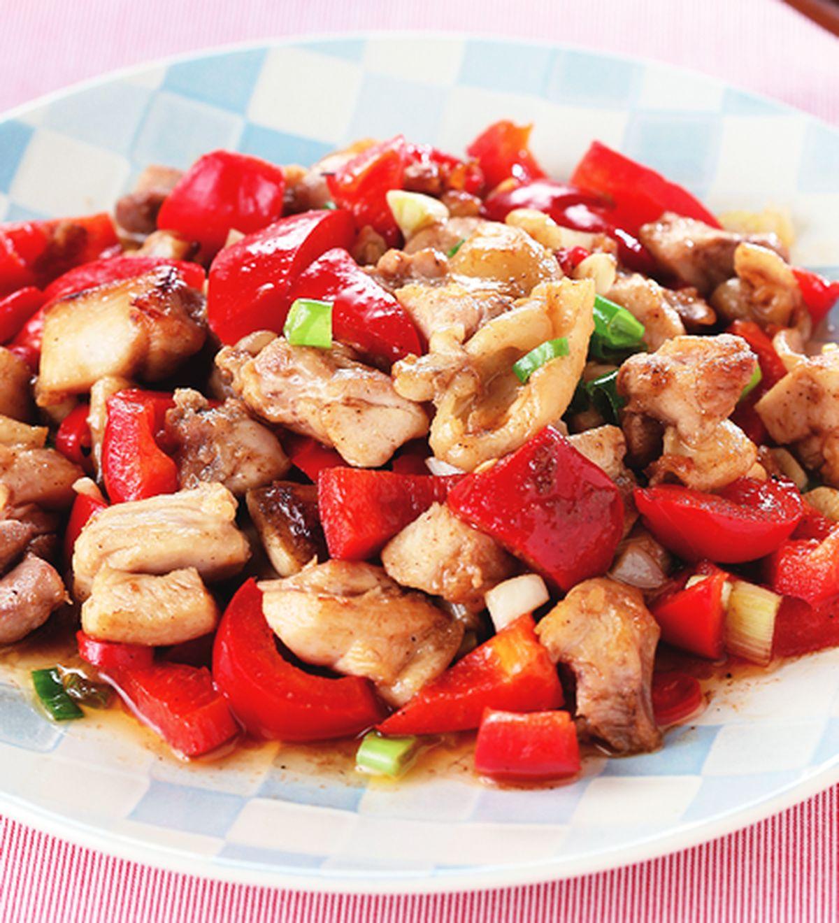 食譜:椒麻炒雞丁