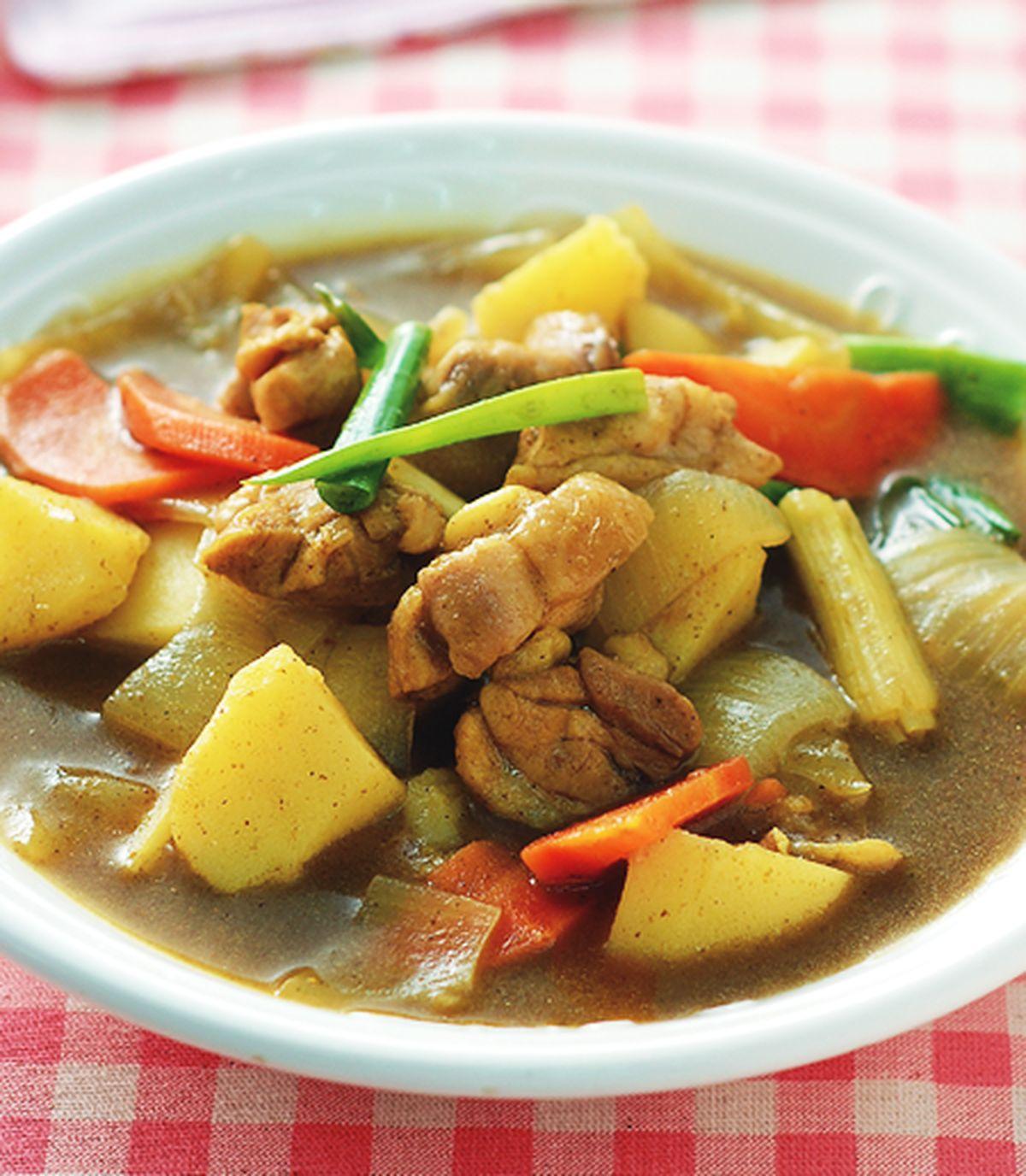 食譜:咖哩雞肉