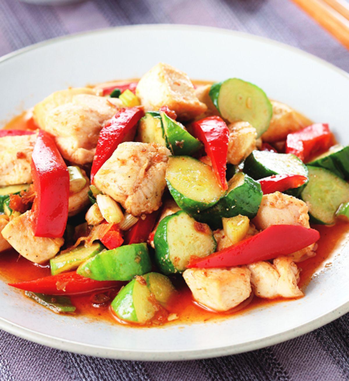 食譜:xo醬炒雞肉