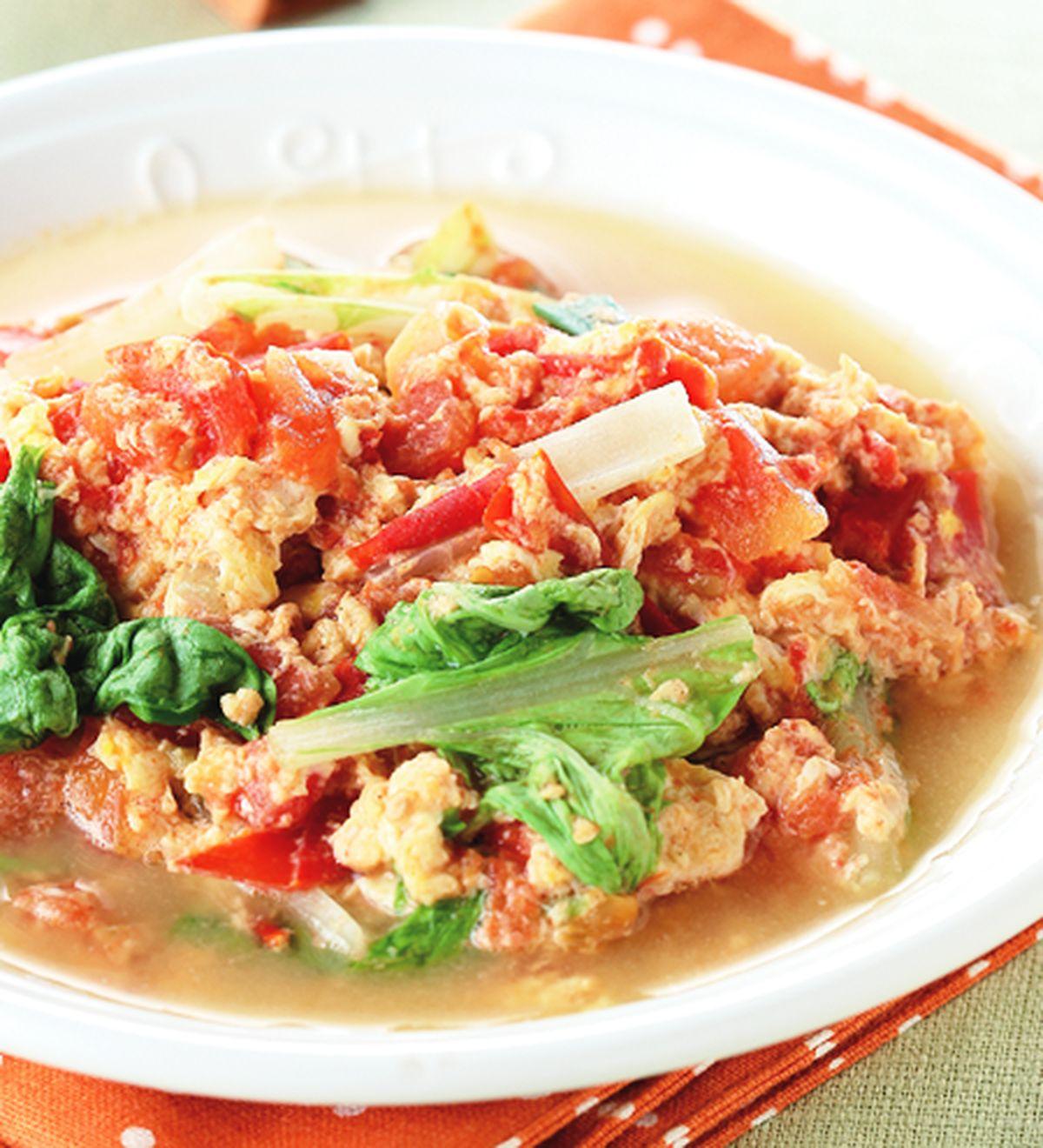 食譜:蕃茄雞絲炒蛋