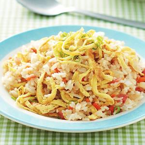 火腿蛋炒飯(1)