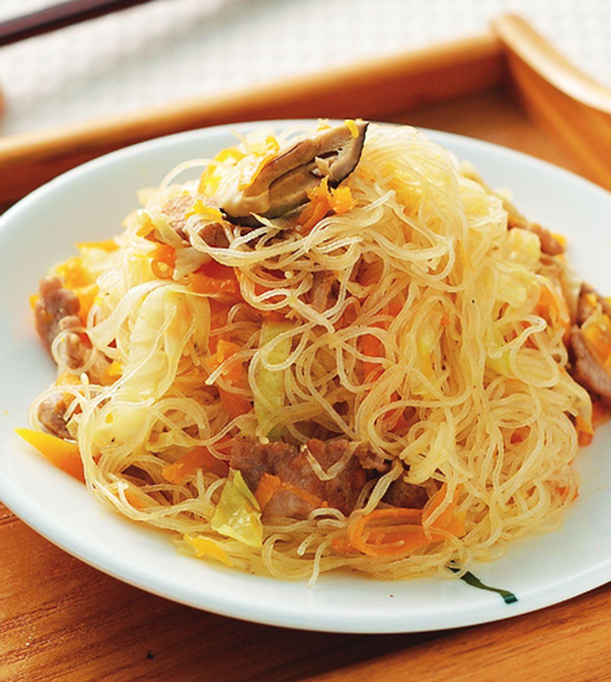 食譜:南瓜炒米粉(1)
