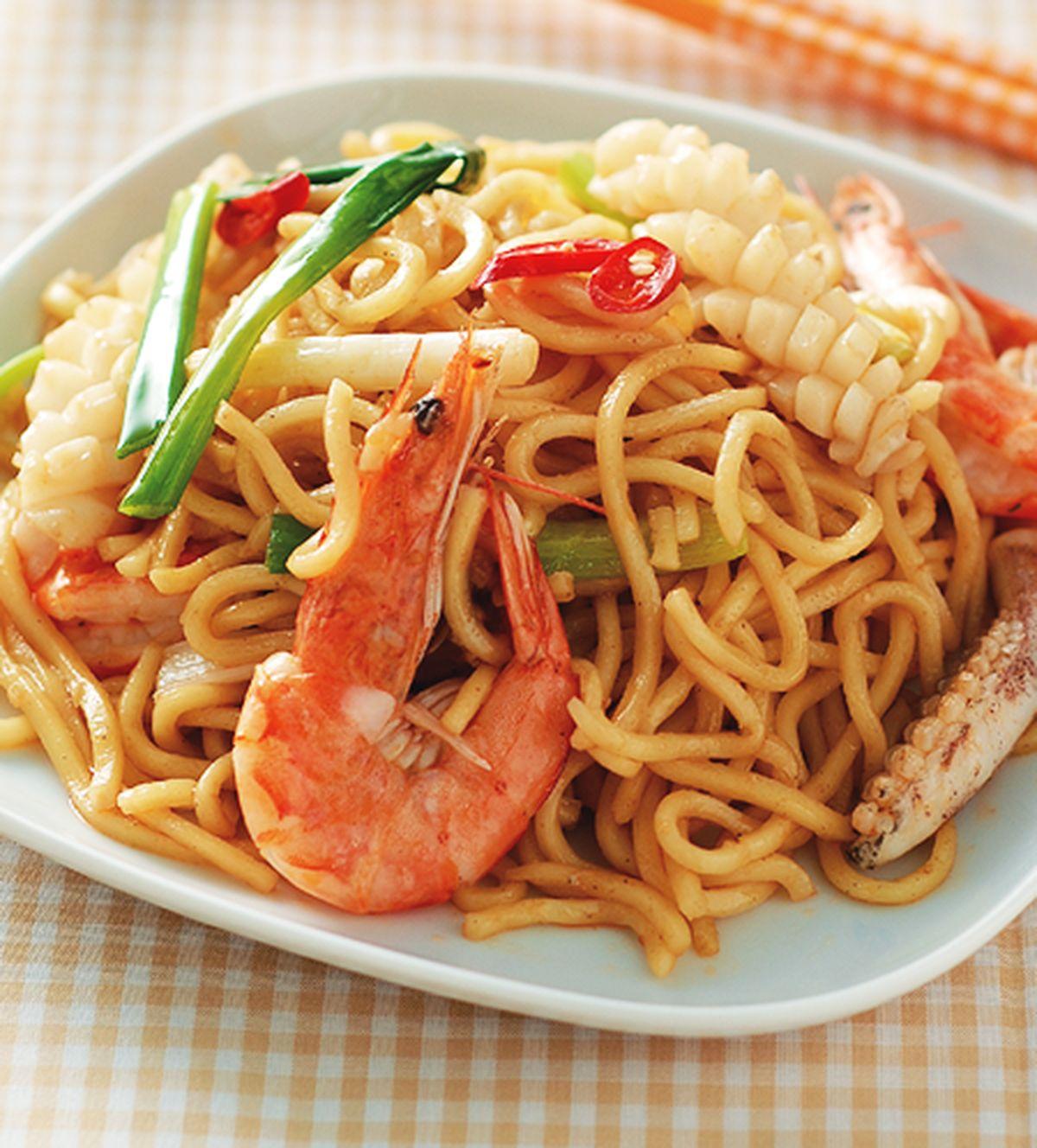 食譜:海鮮炒麵(4)