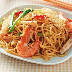 海鮮炒麵(4)