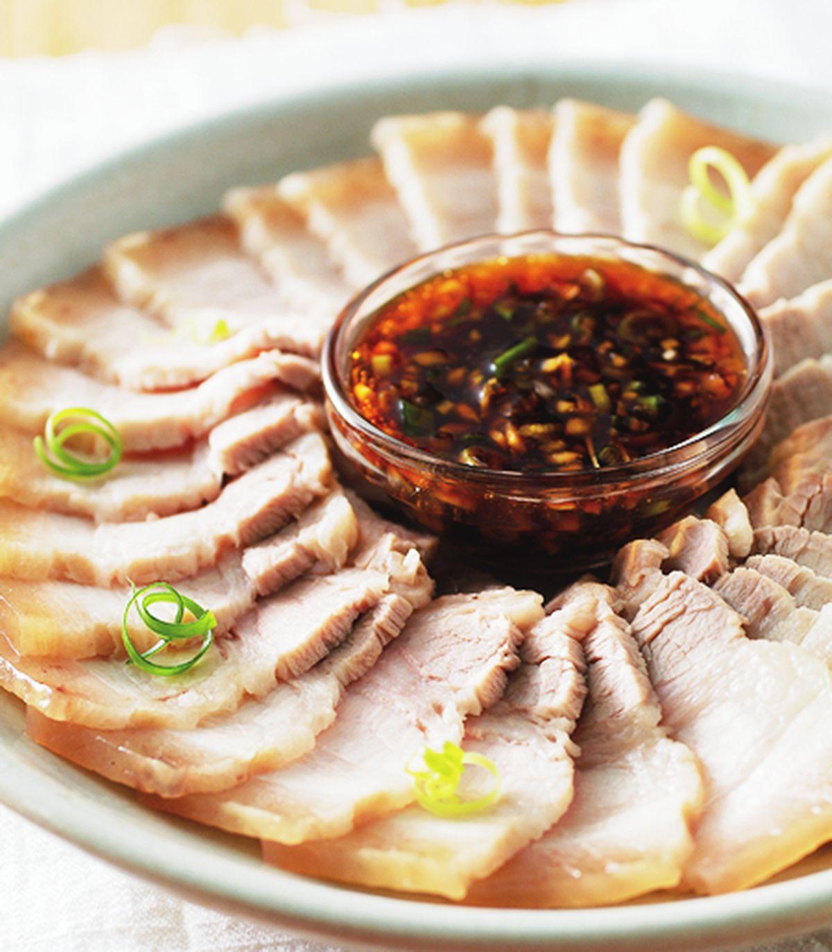 食譜:蒜泥白肉(8)