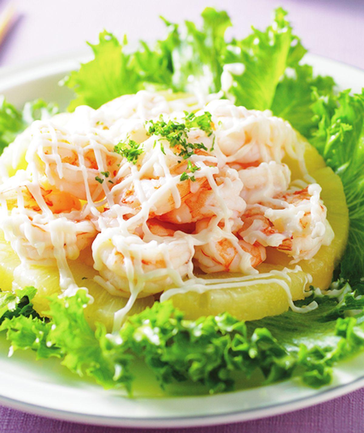 食譜:鳳梨蝦沙拉