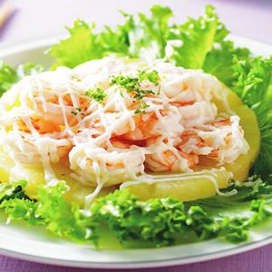 鳳梨蝦沙拉