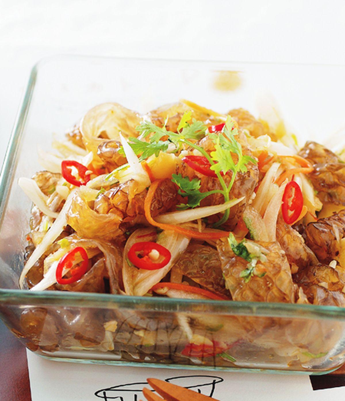食譜:涼拌洋蔥魚皮